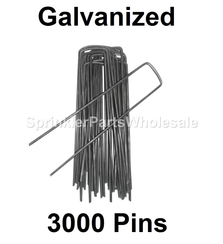Galvanized Sod Staples Anchor Pins Frost Cloth Landscape