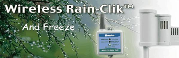 how to connect hunter rain sensor