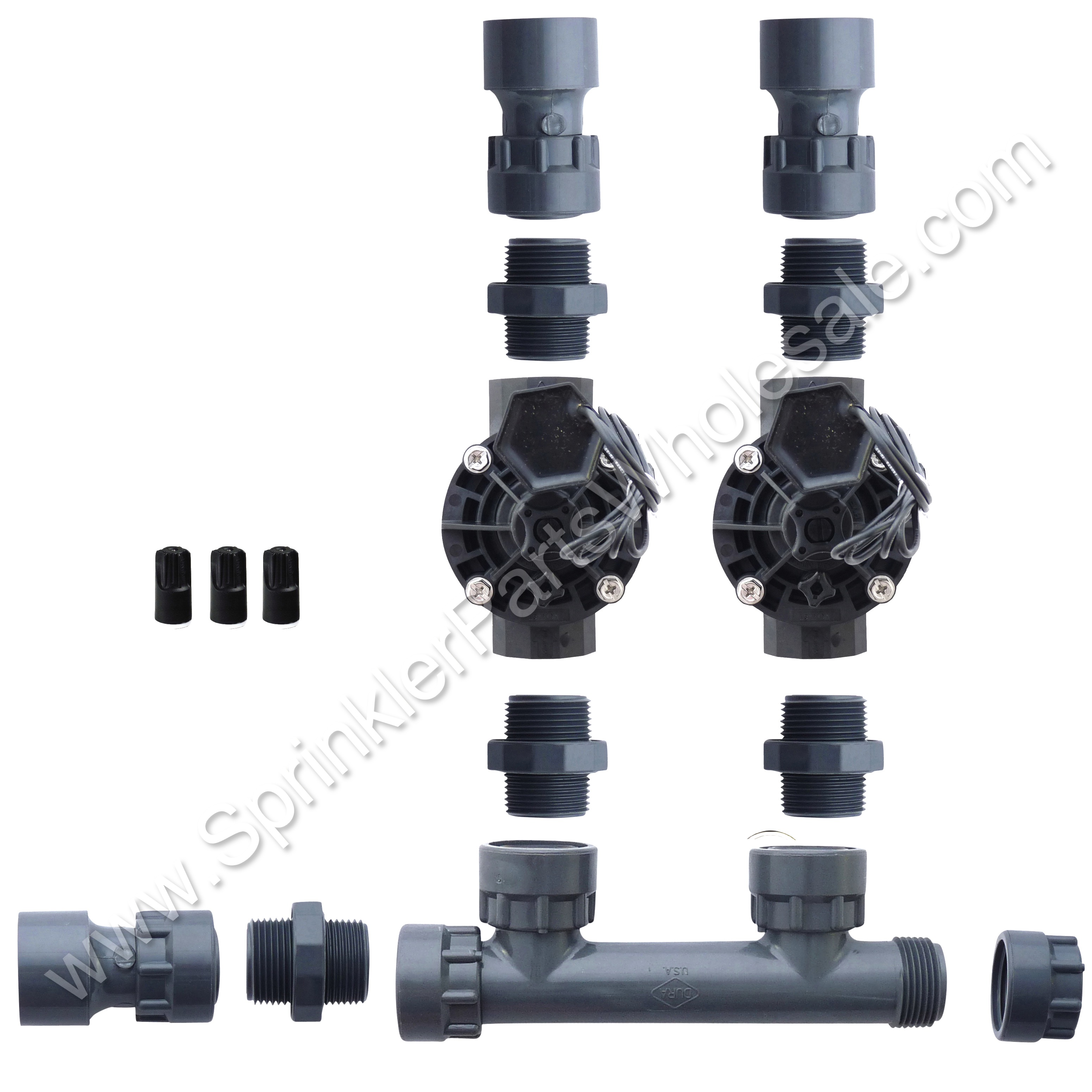 Dura Hvf S Wm also Drip Irrigation furthermore Oem Ford Motorcraft Gp Alternator Pulley L Z Ab Escape Explorer Focus additionally  further Valvebox Install. on rain bird sprinkler valve manifold