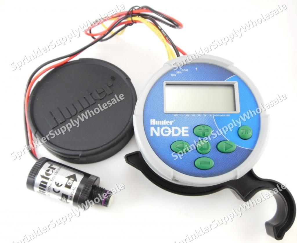 hunter node 100 9v battery controller timer single station with dc rh ebay com Hunter Node 100 Hunter Node 400
