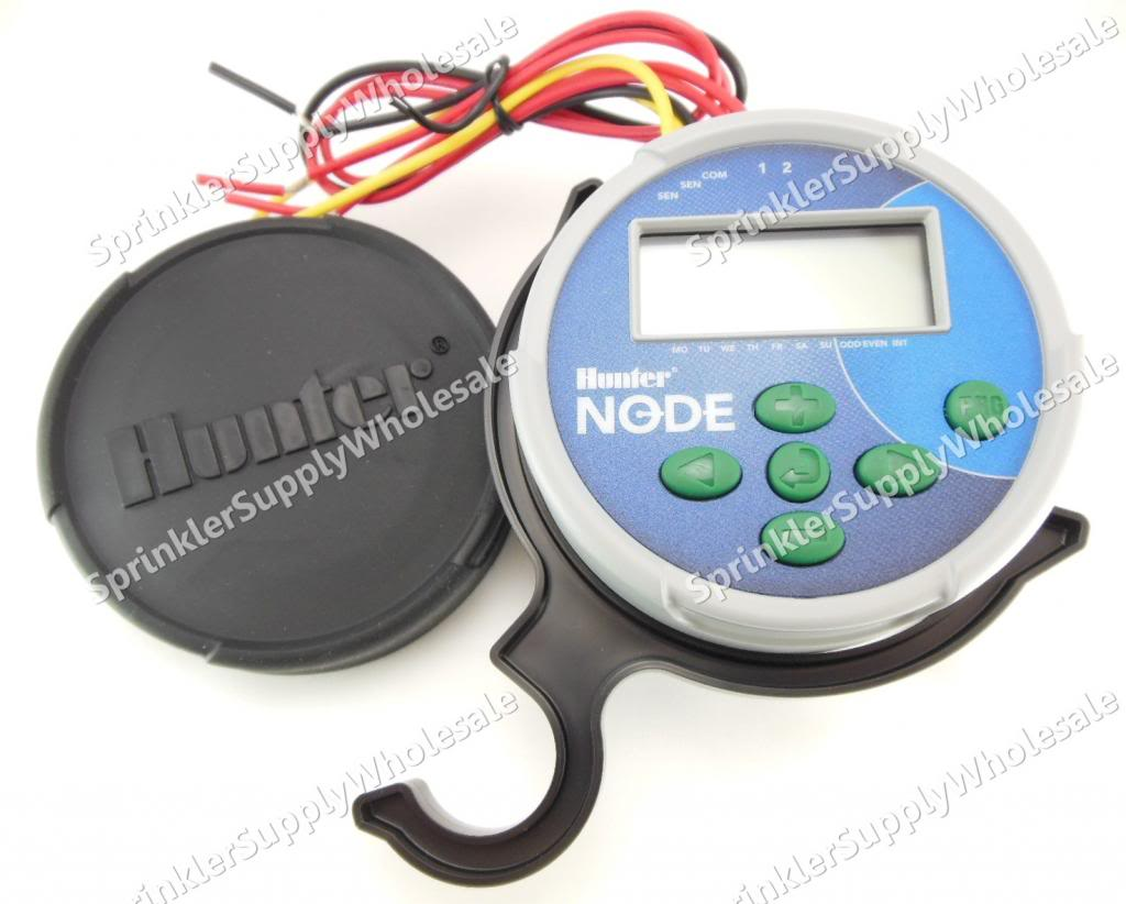 hunter node 200 9v battery operated controller timer 2 station two rh ebay com