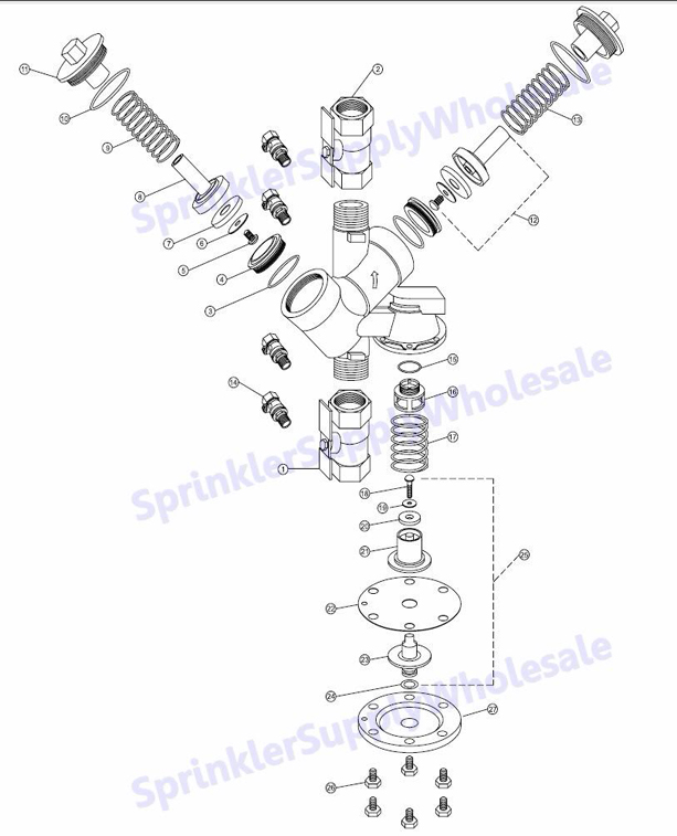 wilkins repair kit rk34 4 u0026quot   u0026 1